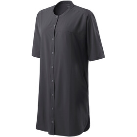 Houdini Trail Shirt Dress Women true black